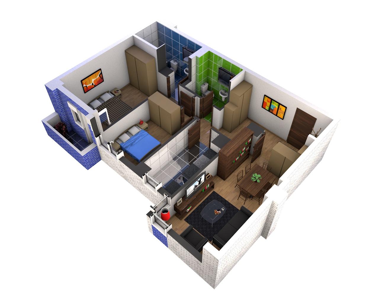 Tu nueva casa en 3d residencial terrazas de nuevo gij n for Hacer tu casa en 3d